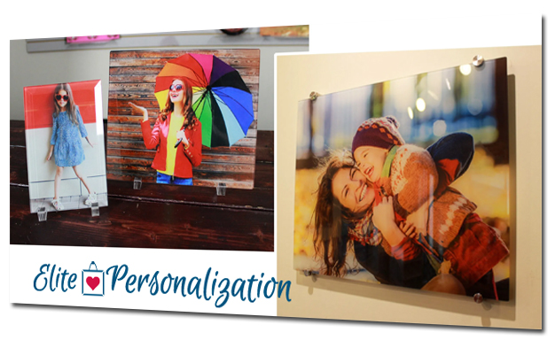 Acrylic Wall Art from Elite Personalization